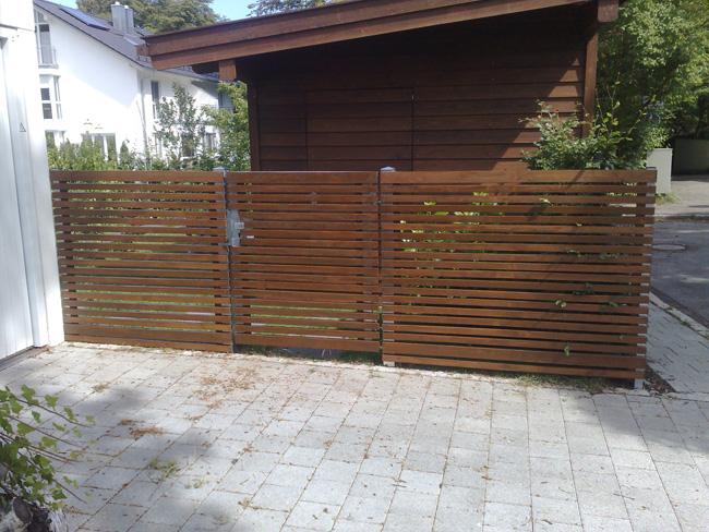 Zäune, Tore und Zubehör von Senior Kappelmaier Vertriebs GmbH - holz und garten neu 1